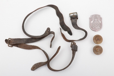 Imperial Germany - spiked helmet spare parts