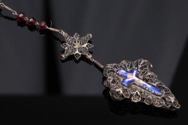 Antique German rosary circa 1800