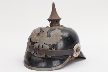 Prussia - M1915 spike helmet Infanterie-Regiment 162 - EM