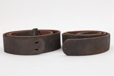 Imperial Germany - two field belts M1870, M1895