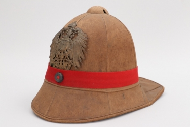 "Imperial Germany - M1900 pith helmet for the ""Ostasiatische Besatzungsbrigade"""