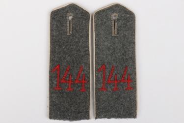 Prussia - Inf.Rgt.11  (5. Lothringisches) shoulder boards - EM