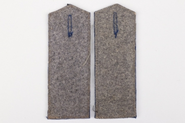 Imperial Germany - pair of blue shoulder boards