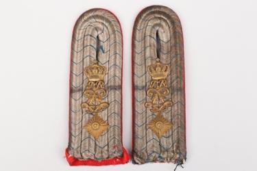 Bavaria - 1. bayer. Feldartillerie-Regiment shoulder boards - Oberleutnant