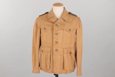 Waffen-SS tropical Sahariana tunic