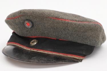 Prussia - fieldgrey Pionier / Artillerie visor cap