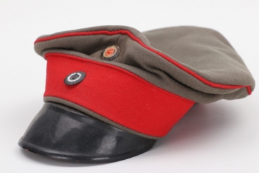 Prussia - fieldgrey Infanterie visor cap - EM