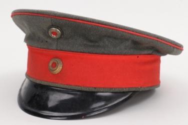 Hesse - fieldgrey infantery officer's visor cap