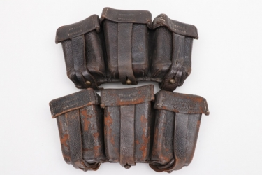 Imperial Germany - two M1911 cavalry ammunition pouches