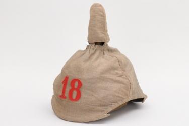 Prussia - Feldartillerie-Regiment 18 camo helmet cover