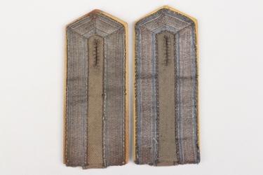 Prussia - shoulder boards for a deputy officer