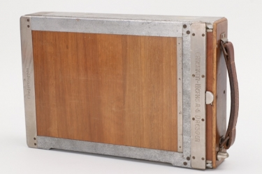 Imperial Germany - case for glass slide for a pilot's camera