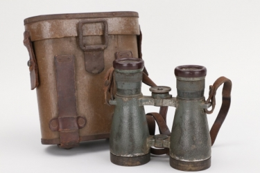 Imperial Germany - M08 binoculars in case