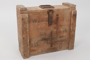 Imperial Germany - mine ammunition case