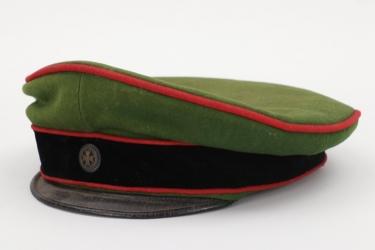 Prussia - Garde-Schützen-Bataillon reserve officer's visor cap