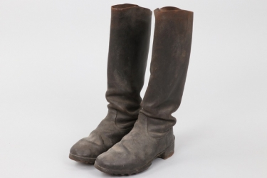 Imperial Germany - field boots cavalry - EM
