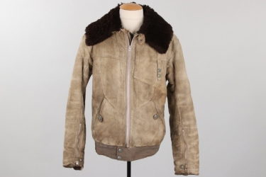 Luftwaffe pilot's winter flight jacket - made in Bulgaria