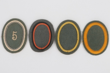 Weimar Republic - 4 Reichswehr sleeve badges