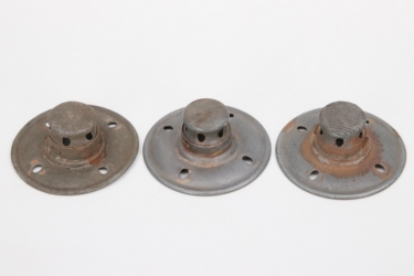 Imperial Germany - 3 fieldgrey spike plates