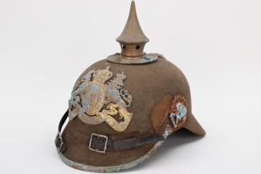 "Bavaria - M1915 ""Ersatz"" infantry spike helmet  - EM"