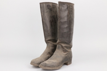 Third Reich - Wehrmacht officer's riding boots