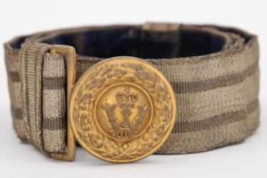 Prussia - officer's buckle & belt