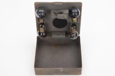 Imperial Germany - Blinkgerät 16 tube case