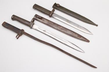 Imperial Germany - 3 + Ersatz bayonets