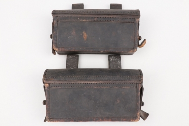 Prussia - two M1874 ammunition pouches