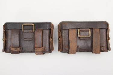 Württemberg - M1887 ammunition pouches for NCOs