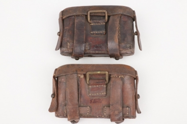 Imperial Germany - M1887/88 ammunition pouches