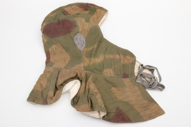 Third Reich - Wehrmacht reversible winter camo hat - tan & water
