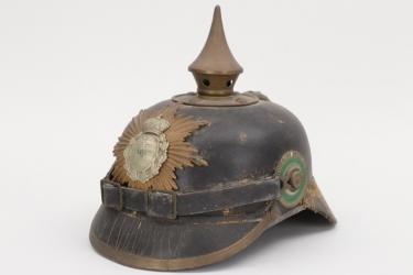 Saxony - M1886 Infanterie spike helmet - EM/NCO