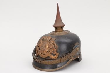 Bavaria - M1886 infantry spike helmet - EM/NCO