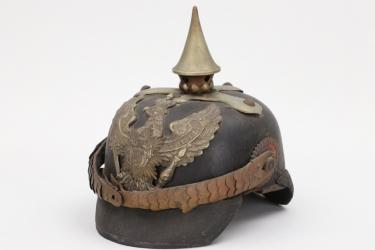 Oldenburg - M1886 Dragoner-Rgt.19 spike helmet - EM/NCO