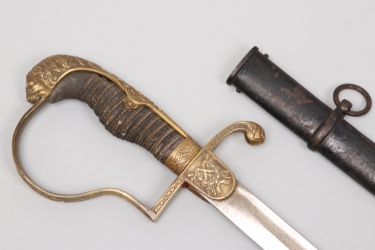 Prussia - Cavalry officer's parade sabre