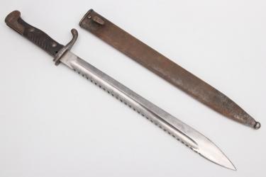 Prussia - bayonet 98/05 with sawback blade - W 15
