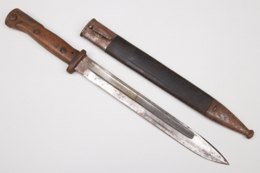Imperial Germany - bayonet SG 71/84 converted to 84/98 a.A.