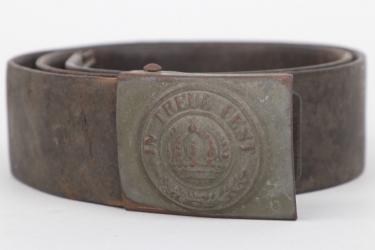 Bavaria - fieldgrey M1895 buckle  with belt - EM/NCO