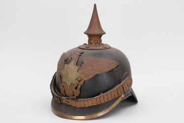 Prussia - M1871 Garde-Fußtruppen spike helmet - EM/NCO