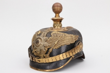 Prussia - M1897 Garde-Fußartillerie spike helmet for a reserve officer