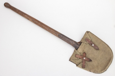 Imperial Germany - shovel with canvas holster