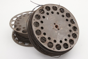 Imperial Germany - 2 reels for field telephone wire