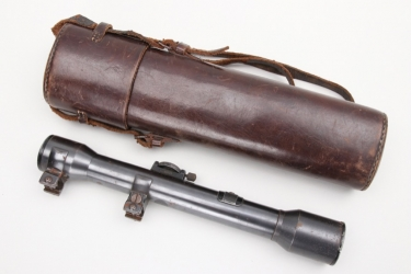 Imperial Germany - scope with leather case