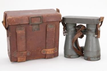 """Imperial Germany - """"DF 08"""" binoculars in case"""