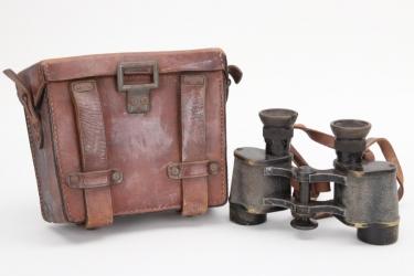 Imperial Germany - binoculars in case (C.P. Goerz,  6x Heli-Trieder)