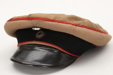 Prussia - Artillerie officer's summer visor cap