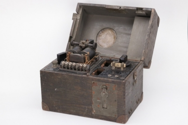 "Imperial Germany - ground telegraphy device ""ETEL"""