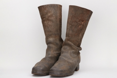 Imperial Germany - infantry field boots - EM