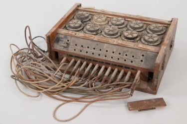 Imperial Germany - radio operator switch box